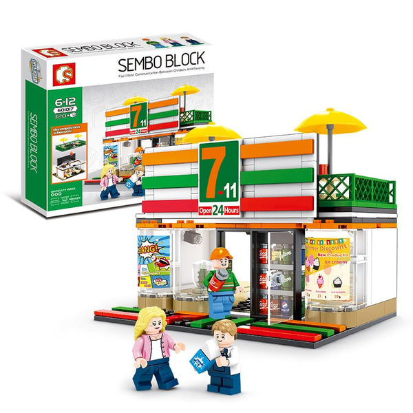 Sembo 601017 7-11 Convenience Store - Your World of Building Blocks