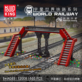 Mould King 12008 Railroad crossing