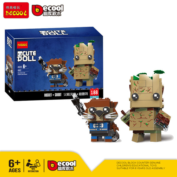 DECOOL 6602 Rocket & Groot - Your World of Building Blocks