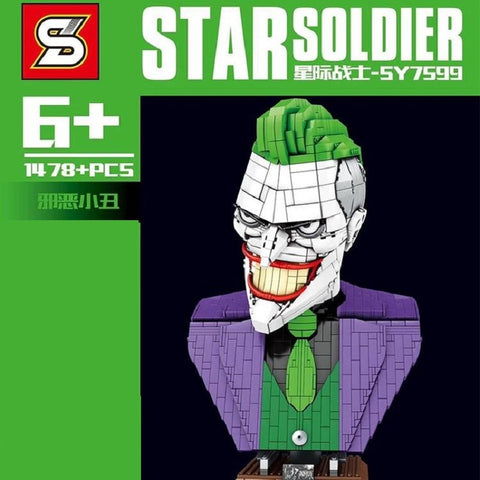 SY 7599 Joker bust - Your World of Building Blocks