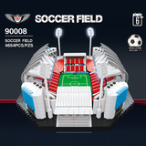 QIZHILE 90008 SOCCER FIELD with lights - Your World of Building Blocks