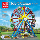 Mould King 11006 Ferris Wheel with Lights