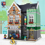 RAEL 10004 Bike Shop - Your World of Building Blocks