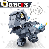 SLUBAN M38-B0761 Q version of Godzilla - Your World of Building Blocks