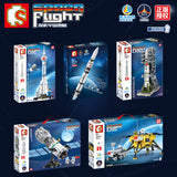 SEMBO 203301~203306 Spaceflight Series - Your World of Building Blocks
