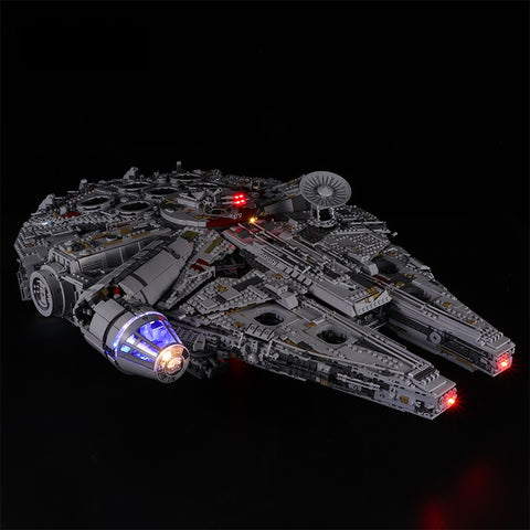 DIY LED Light Kit For Millennium Falcon 05132 - Your World of Building Blocks