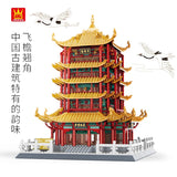 WANGE 6214 Yellow Crane Tower - Your World of Building Blocks