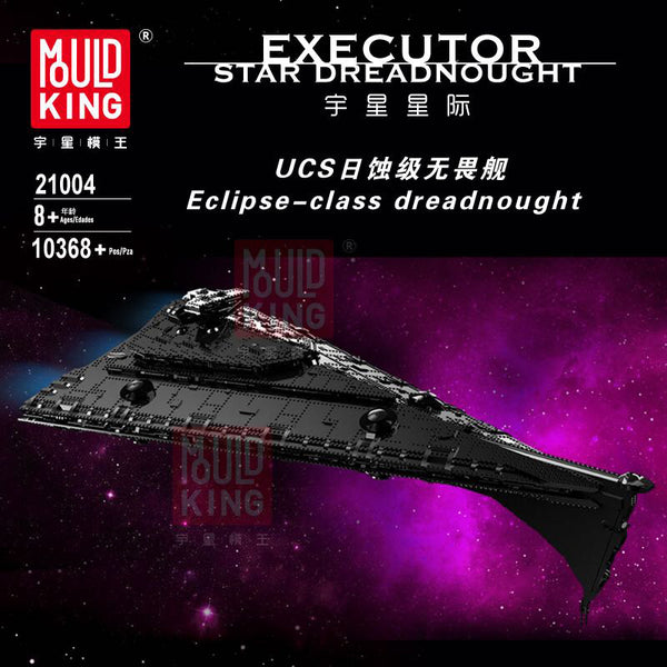 Mould King 21004 UCS Eclipse-class Dreadnought