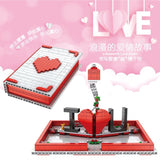 Mould King 10008 Love Confession Book