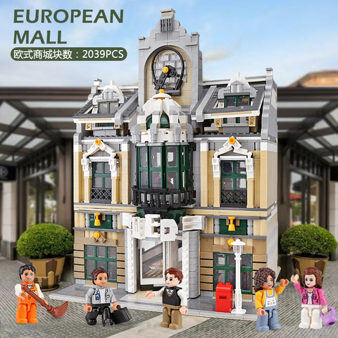 ZHEGAO QL0922 European Mall - Your World of Building Blocks
