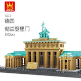 WANGE 6211 The Brandenburg Gate of Berlin - Your World of Building Blocks