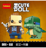 DECOOL 6603 Owen & Blue - Your World of Building Blocks
