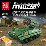 Mould King 20001 RC HJ-10 Anti-Tank Missile