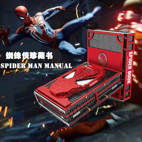 SY 1461 Spiderman Memorial Manual Books
