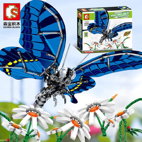 Sembo 703601 Swallowtail Butterfly - Your World of Building Blocks