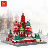 WANGE 6213 The Saint Basil's Cathedral of Moscow - Your World of Building Blocks