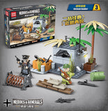 QuanGuan 100080 WWII Battlefield - Your World of Building Blocks
