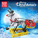 Mould King 10010 Sleigh Reindeer