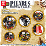 ZHEGAO QL1801 Pirates Ship - Your World of Building Blocks