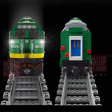 Mould King 12001 RC NJ2 Diesel Locomotives