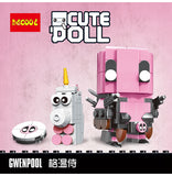 DECOOL 6604 Gwenpool - Your World of Building Blocks