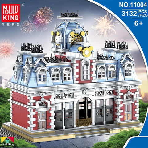 Mould King 11004 The Station of The Dreamland - Your World of Building Blocks