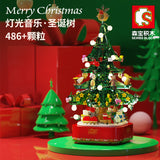 SEMBO 601097 Chrismas Tree Music Box with Lights