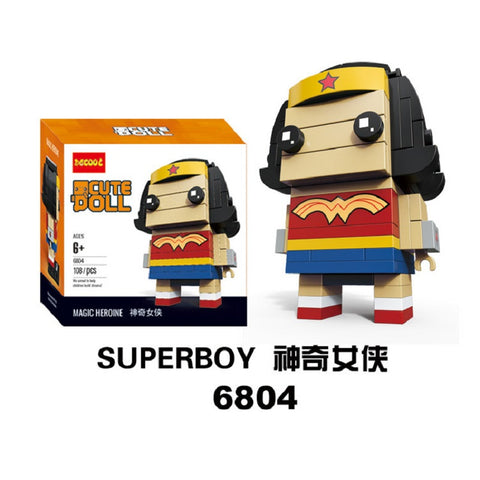 DECOOL 6804 Super Heros - Your World of Building Blocks