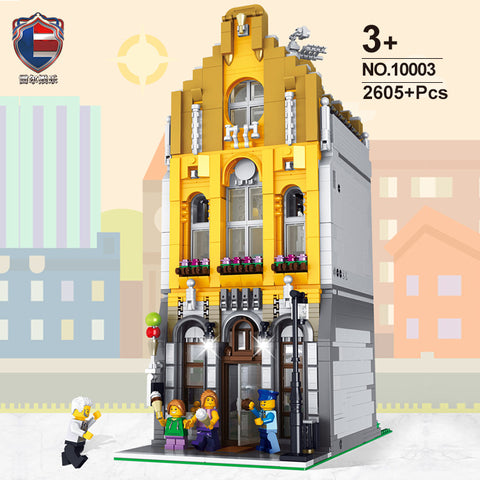 RAEL 10003 Ice Cream Store - Your World of Building Blocks