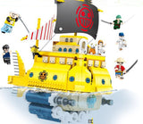 SY 6295 Polortang pirate ship - Your World of Building Blocks