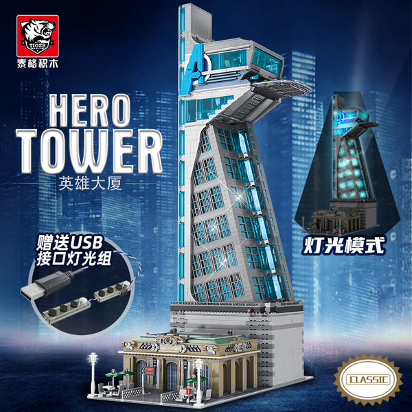 TIGER 55120 Super Heros Tower with Lights