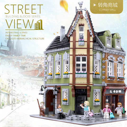 ZHEGAO QL0919 Corner Mall - Your World of Building Blocks