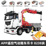Mould King 19002 RC Pneumatic Crane Truck
