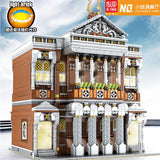 Mould King 16032 Concert Hall with Light bricks