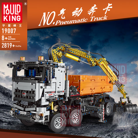 Mould King 19007 RC Penumatic Truck