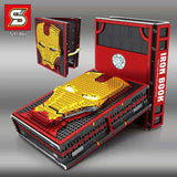 SY 1361 Iron Man Memorial Manual Books - Your World of Building Blocks