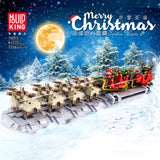 Mould King 10015 The Motorized Christmas Santa Sleigh