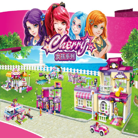 Enlighten 2008~2015 Colorful City Girls Series - Your World of Building Blocks