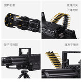 QIZHILE 86001 Gatling machine gun