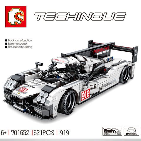 SEMBO 701652 Racing Cars 919 - Your World of Building Blocks