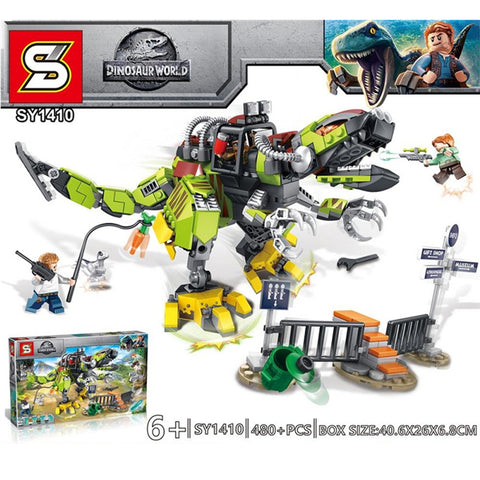 SY 1410 Mech T-rex - Your World of Building Blocks