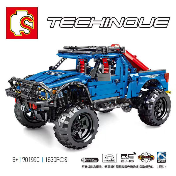 Sembo 701990 F-150 Raptor Pickup Truck Schepper - Your World of Building Blocks