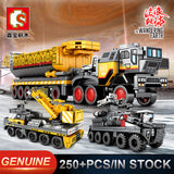 SEMBO 107001~107009 The Wandering Earth Trucks - Your World of Building Blocks
