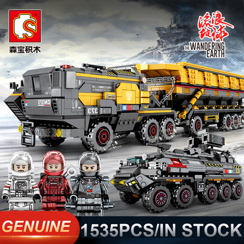 SEMBO 107001~107009 The Wandering Earth Trucks