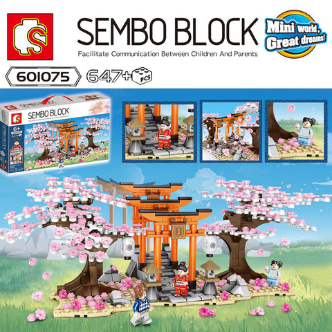 Sembo 601075 Sakura Streetscape - Your World of Building Blocks