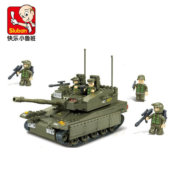 SLUBAN B0305 Makava Tank - Your World of Building Blocks