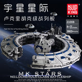Mould King 21008 Trade Federation Battleship - Your World of Building Blocks