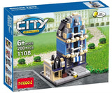 DECOOL 1105~1109 Mini City 5 IN 1 - Your World of Building Blocks