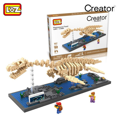 LOZ 9027 Plesiosaurus Fossil - Your World of Building Blocks