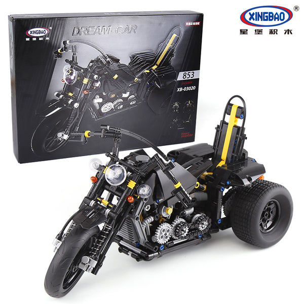 XINGBAO Technic Dream Car Series XB-03020 The Heavy Motorcycle Set Building Blocks Bricks Toys - Your World of Building Blocks
